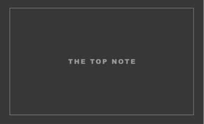 THE TOP NOTE